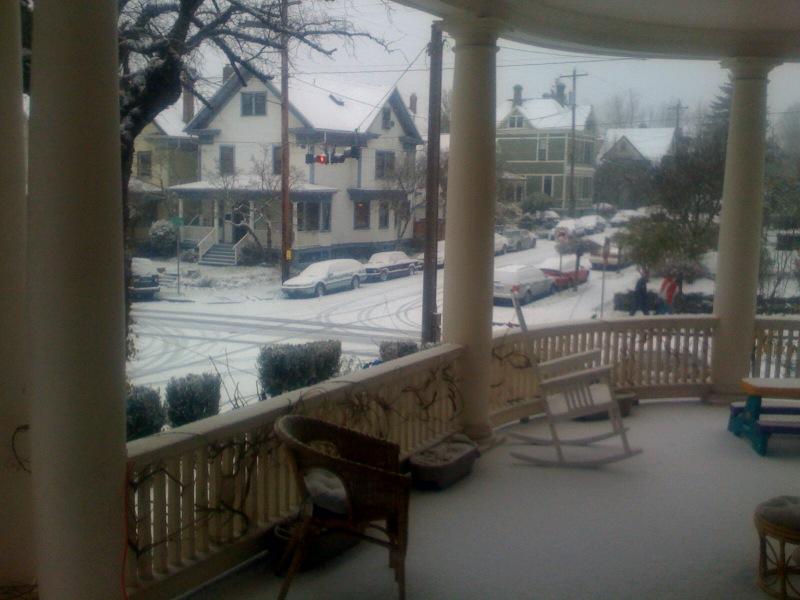 Dec 14 2008 snowdeck