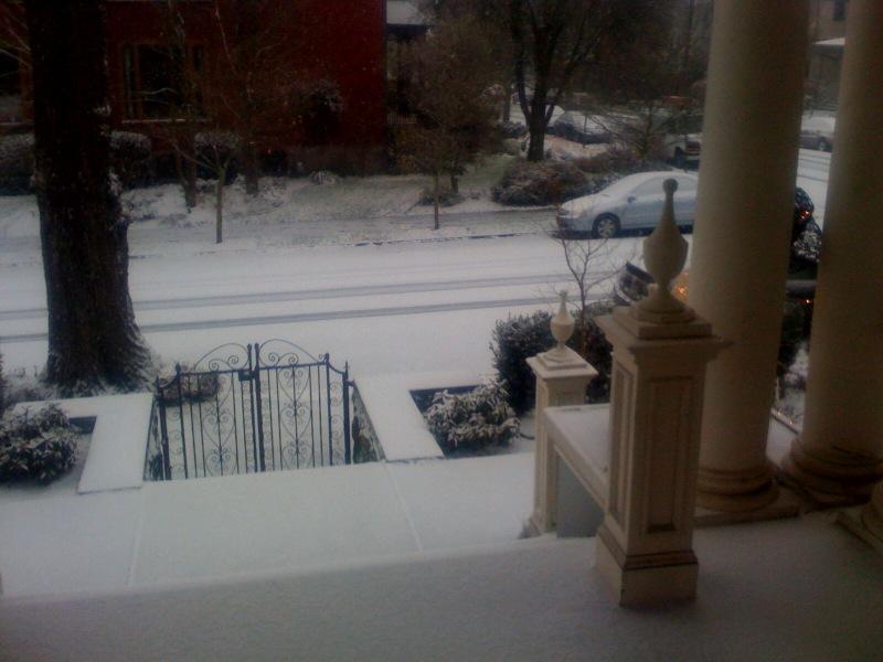 Dec 14 snowy deck
