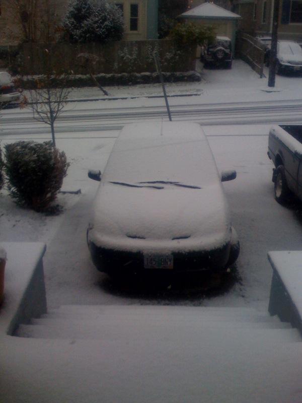 Dec 1408 snow car